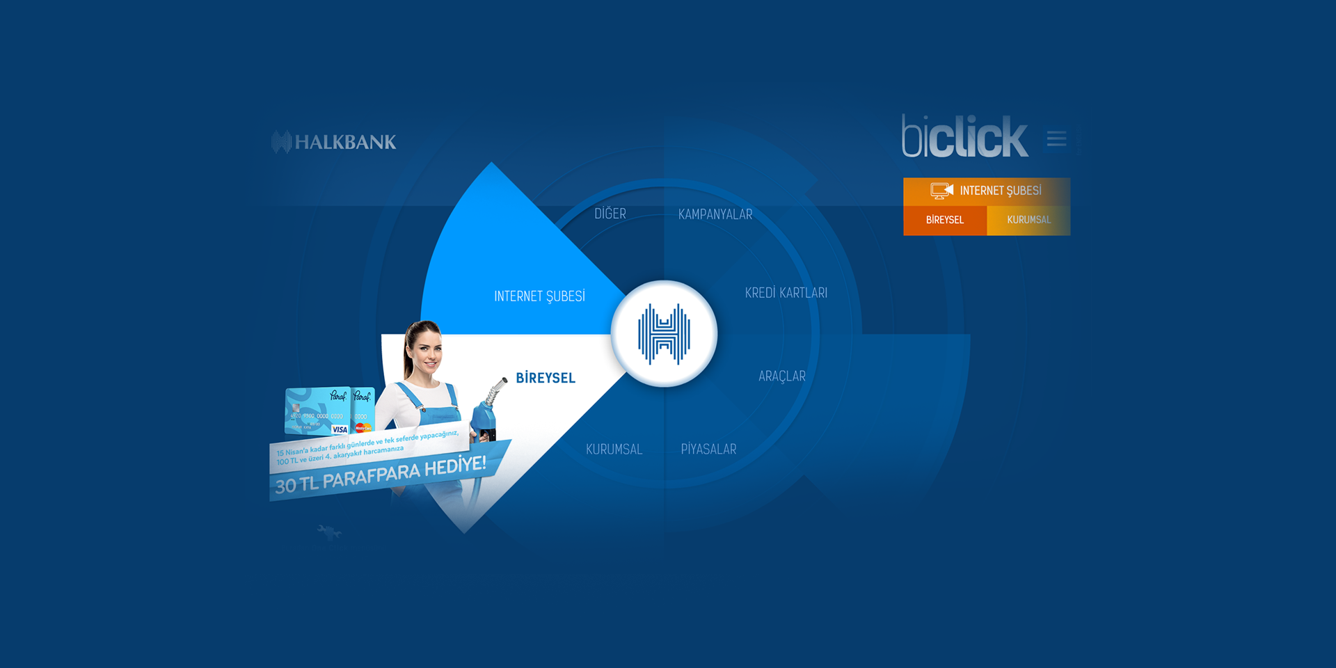 Halkbank biClick